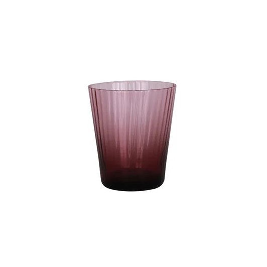 French Country Talbot Tumbler Glass Purple