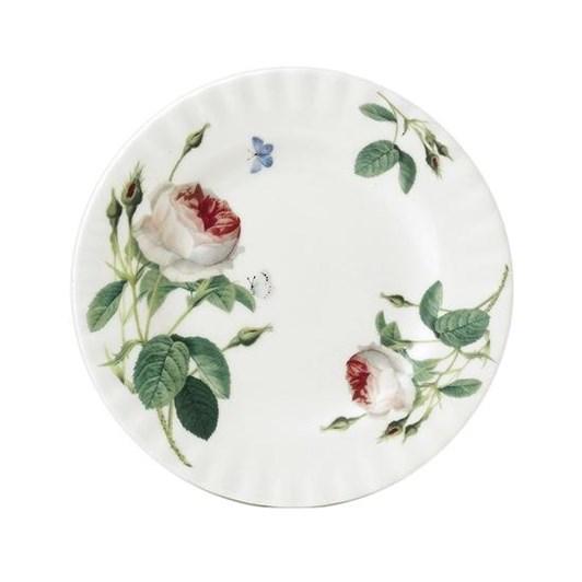 Roy Kirkham Redoute Rose Place Garden Cake Plate