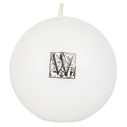 Waxglo White Smooth Finish Ball 80mm