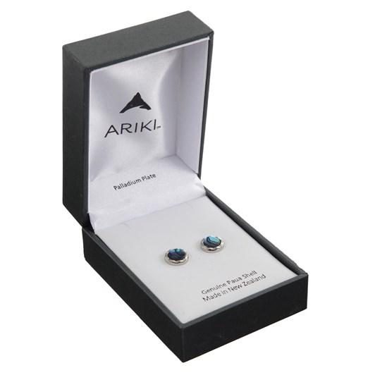 Ariki Silver Paua Earrings