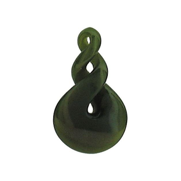 Ariki - Freeform Greenstone Pendants -