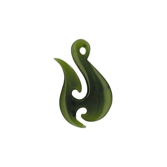 Ariki - Freeform Greenstone Pendants