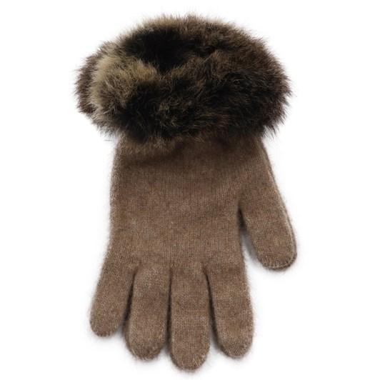 Koru Fur Trimmed Gloves