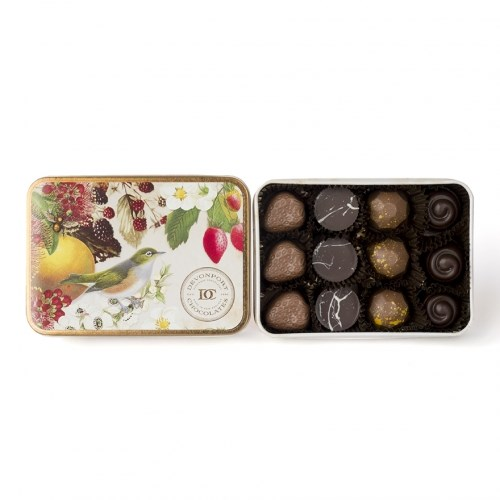 Devonport Chocolates Vintage New Zealand Keepsake Kiwiana Selection Tin