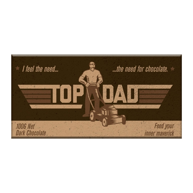 Bloomsberry Top Dad Chocolate Bar 100g -
