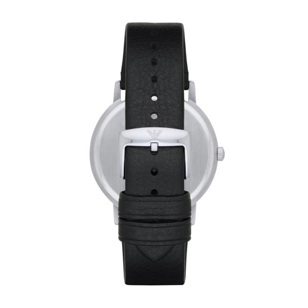 Emporio Armani Kappa Black Analogue Watch AR11013 -