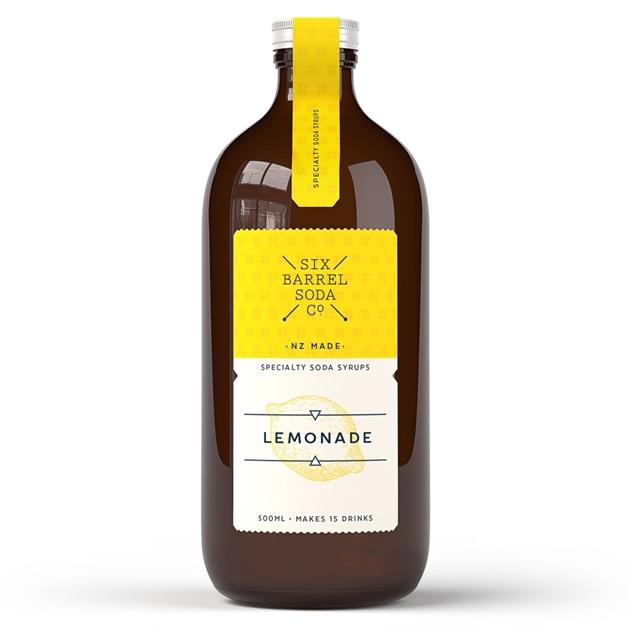 Six Barrel Soda 500ml - Lemonade -