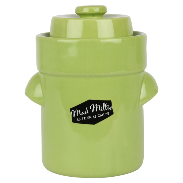 Mad Millie Sauerkraut Crock -