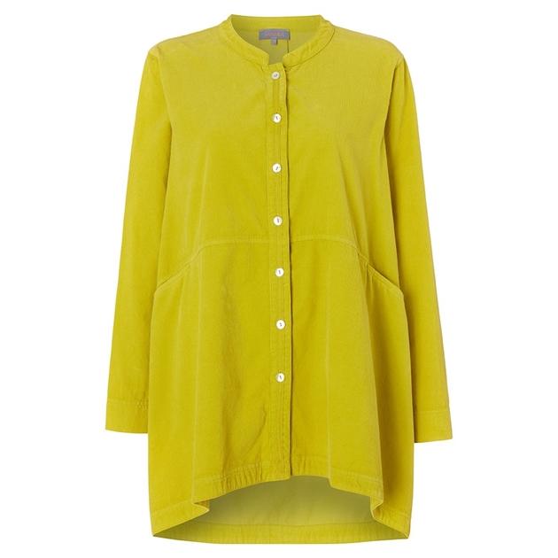 Sahara London Cotton Babycord Shirt -