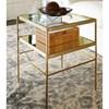 Pottery Barn Leona Rectangular Coffee Table -