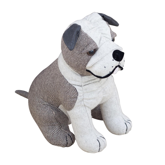 Dora Designs Bulldog Thurston Doorstop -
