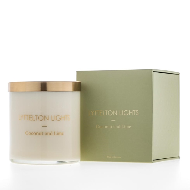 Lyttelton Lights Coconut And Lime Candle -