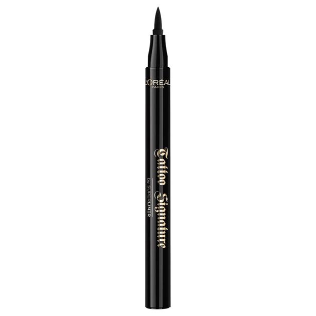 L'Oreal Paris Superliner Tattoo Signature Eyeliner - 01 Xtra Black -