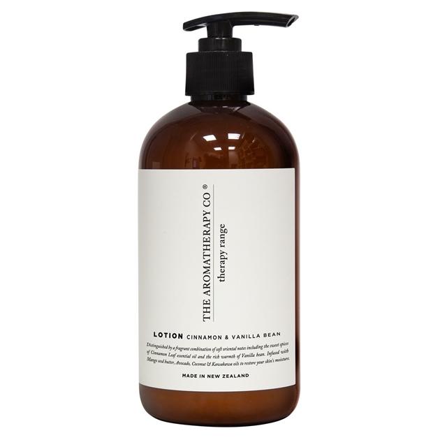 The Aromatherapy Co Therapy® Hand & Body Lotion - Cinnamon & Vanilla Bean -