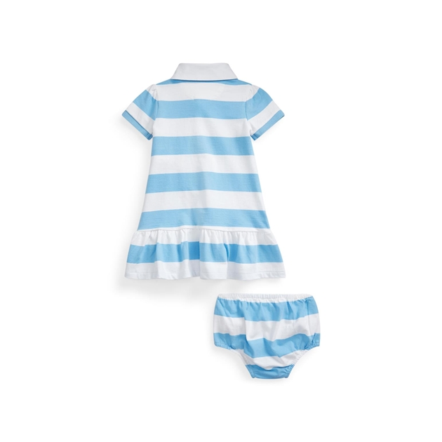 Polo Ralph Lauren Striped Rugby Dress & Bloomer -