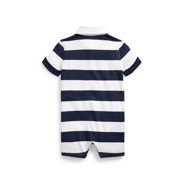 Polo Ralph Lauren Striped Cotton Rugby Shortall -