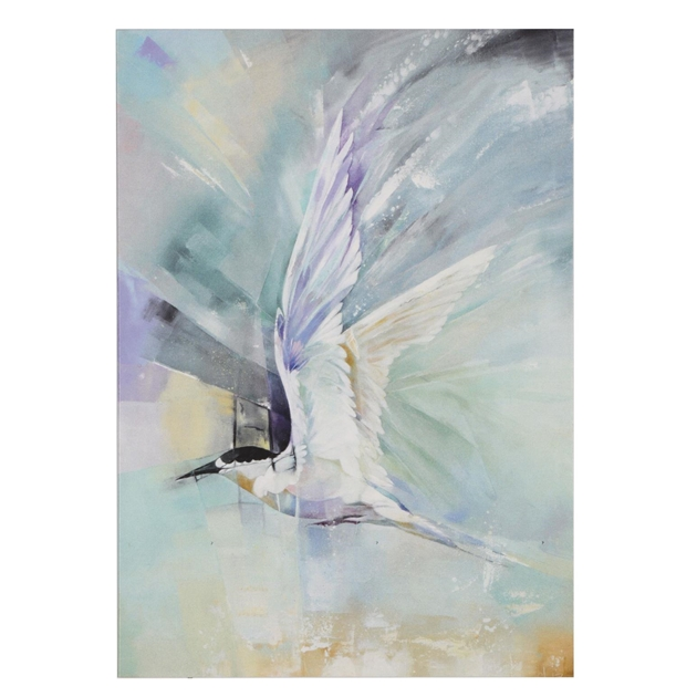 Sheila Brown Heading Home, White Fronted Tern Card -