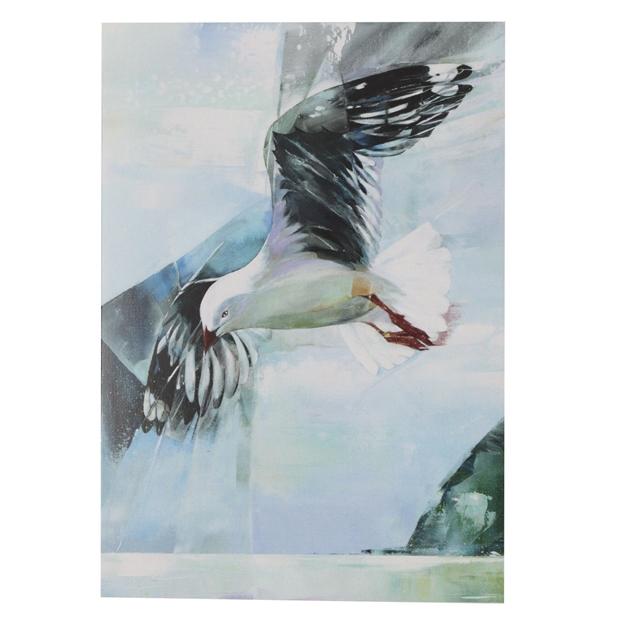 Sheila Brown Gull At Whitewash Head Card -