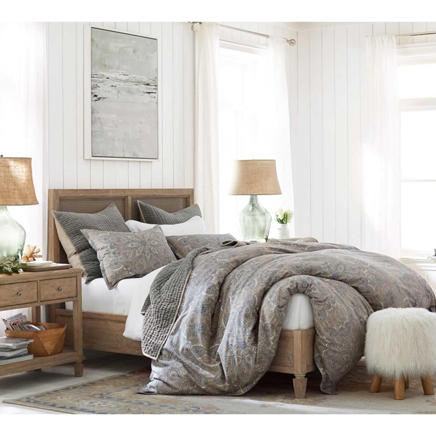 Pottery Barn - Pottery Barn Sausalito Bed Queen Wood ...