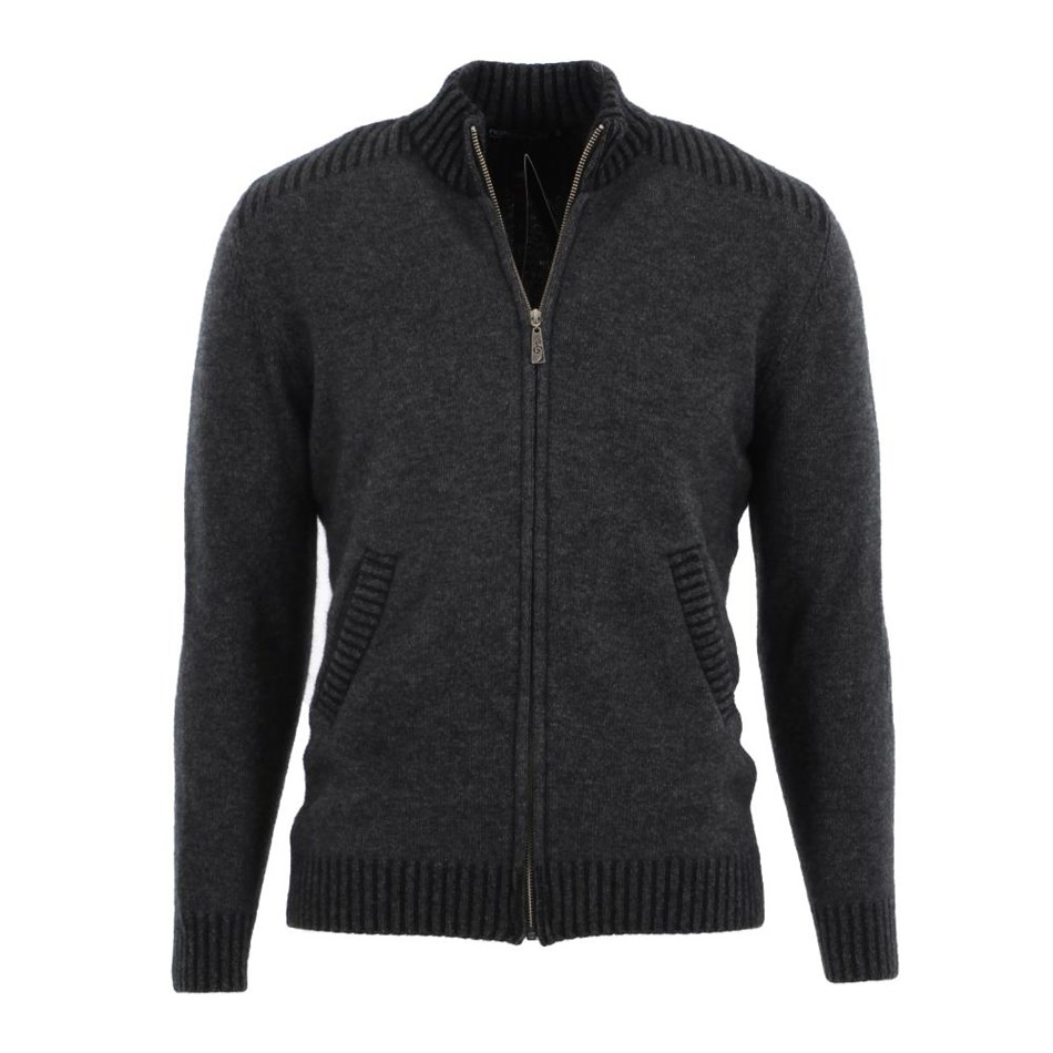 Native World Mens Zip Jacket with Pockets - 913 graphite