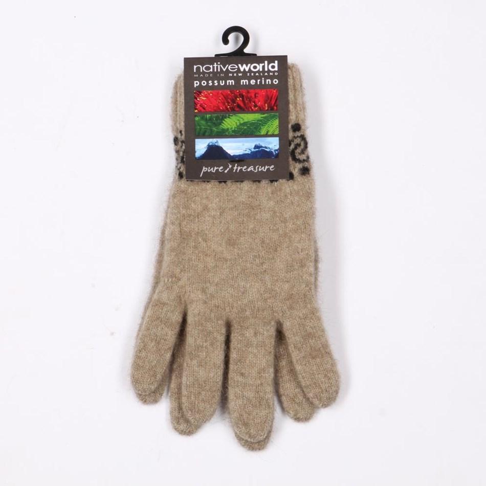 Native World Womens Koru Gloves -