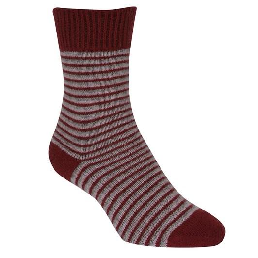 Native World Striped Dress Socks