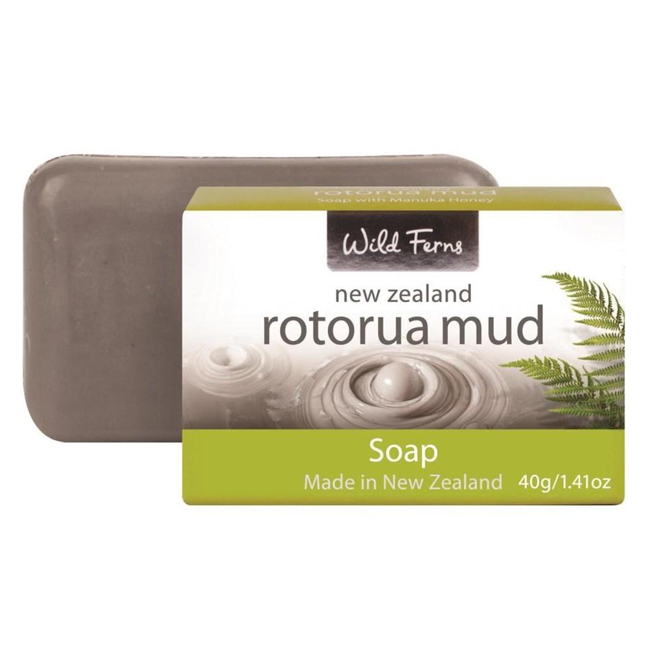 Parrs Rotorua Mud Guest Soap 40Gm - na