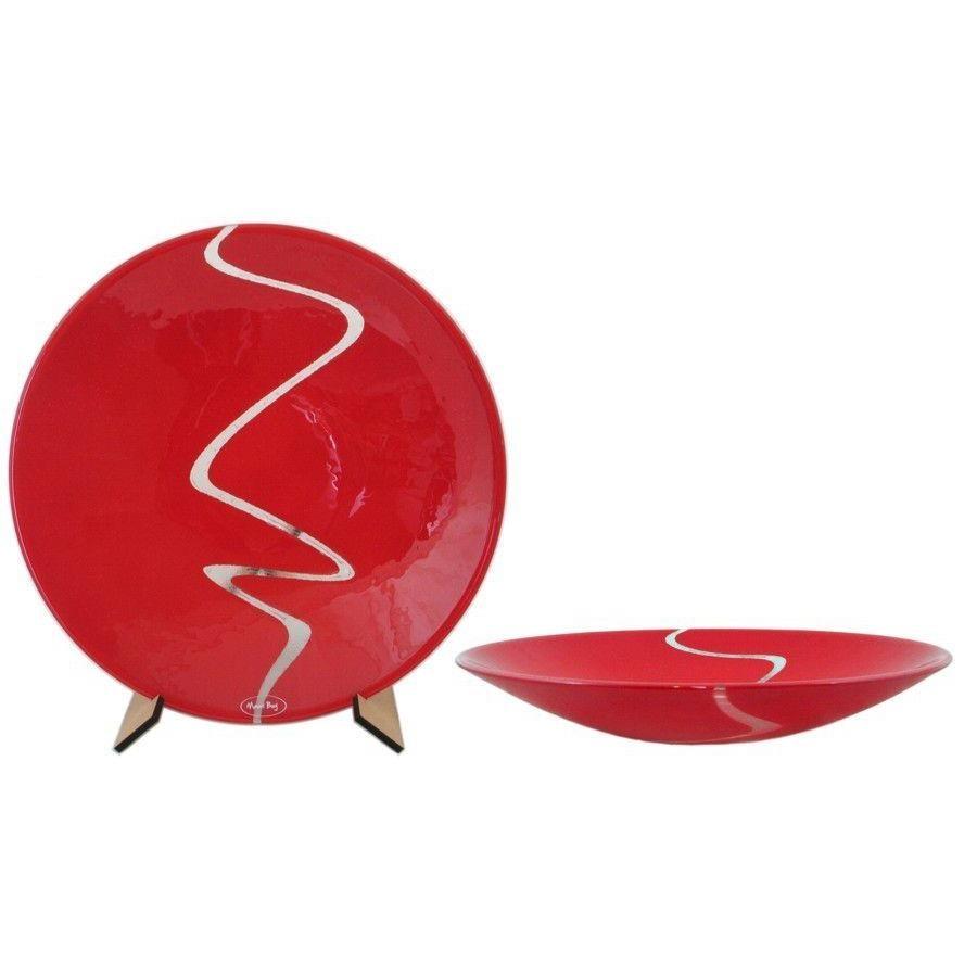 Maori Boy Awa Lge Bowl - Rich Red -