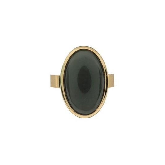Ariki Gold Greenstone Ring