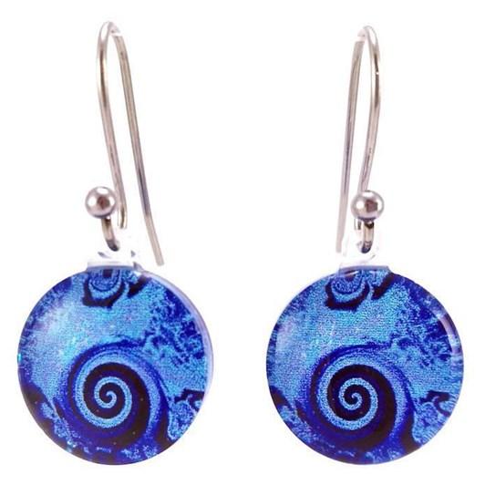 Round Wave Earrings