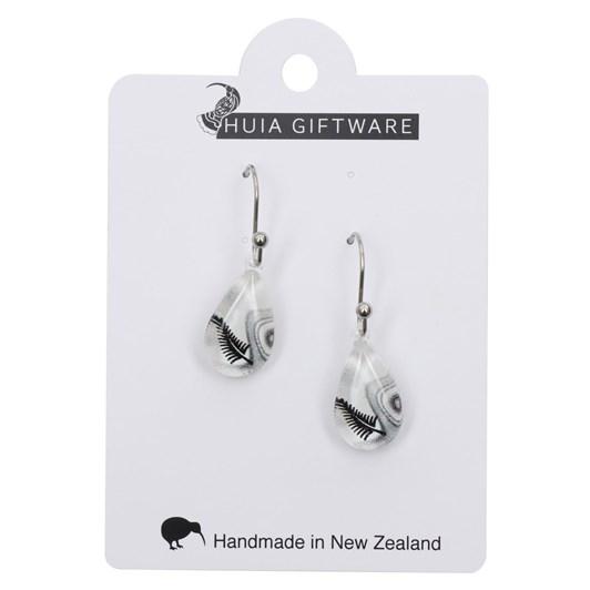 Teardrop Fern Earrings