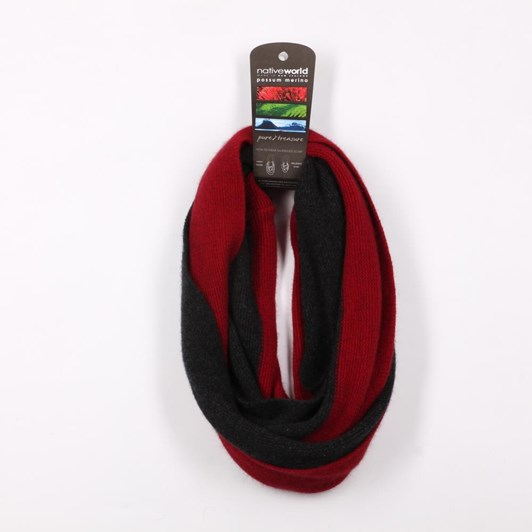 Native World Two Tone Endless Scarf
