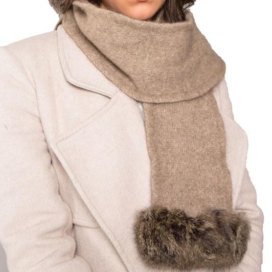 Koru Fur Trim Hat/Scarf