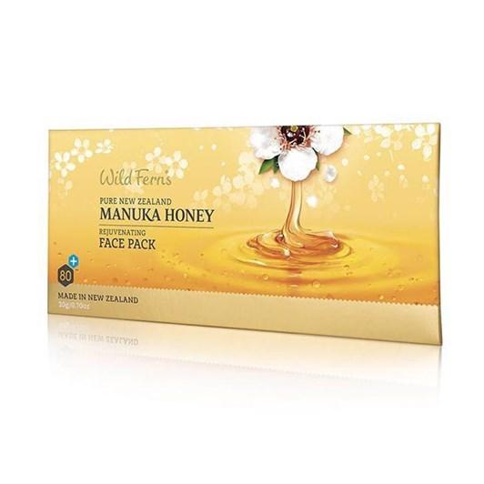 Wild Ferns Manuka Honey Rejuvenating Face Pack 20g Sachet