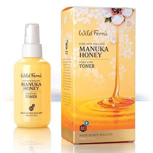 Wild Ferns Manuka Honey Purifying Toner 140ml