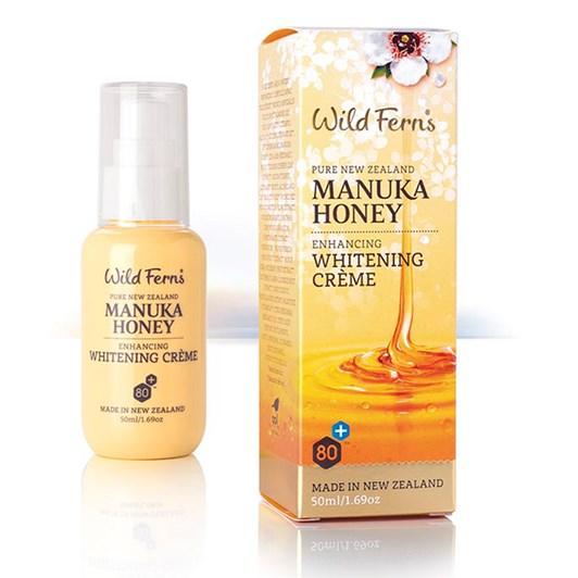 Wild Ferns Manuka Honey Enhancing Whitening Crème 50ml