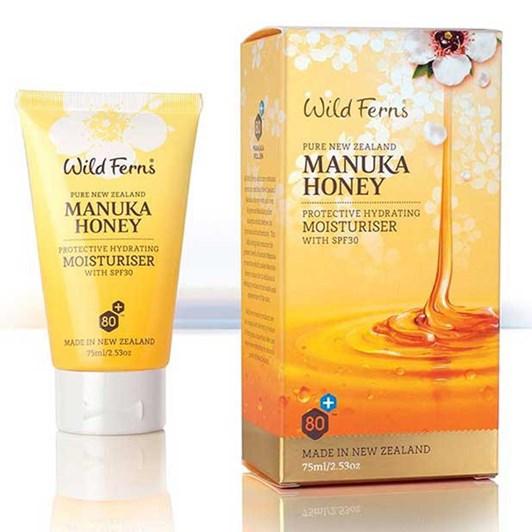 Wild Ferns Manuka Honey Protective Hydrating Moisturiser SPF30 75ml