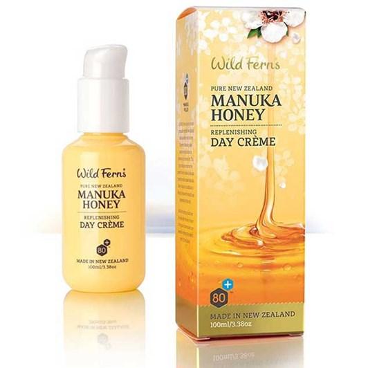 Wild Ferns Manuka Honey Replenishing Day Creme 100ml