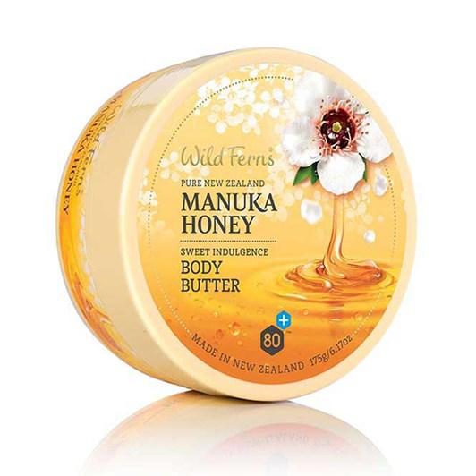 Wild Ferns Manuka Honey Sweet Indulgent Body Butter 175g