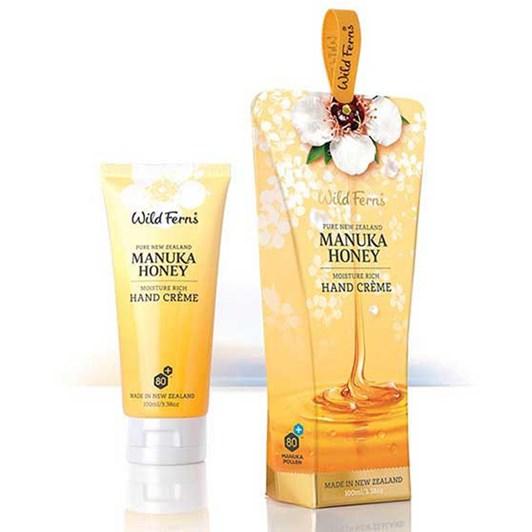 Wild Ferns Manuka Honey Moisturiser Rich Hand Creme 100ml