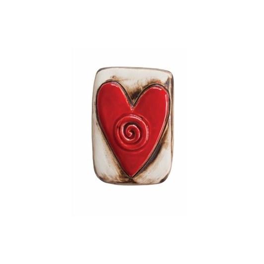 Jenz Single Koru Heart Tile 10x6cm