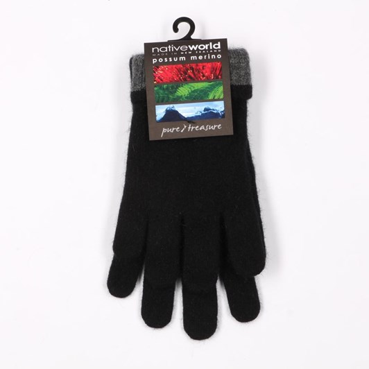Native World Two Tone Gloves