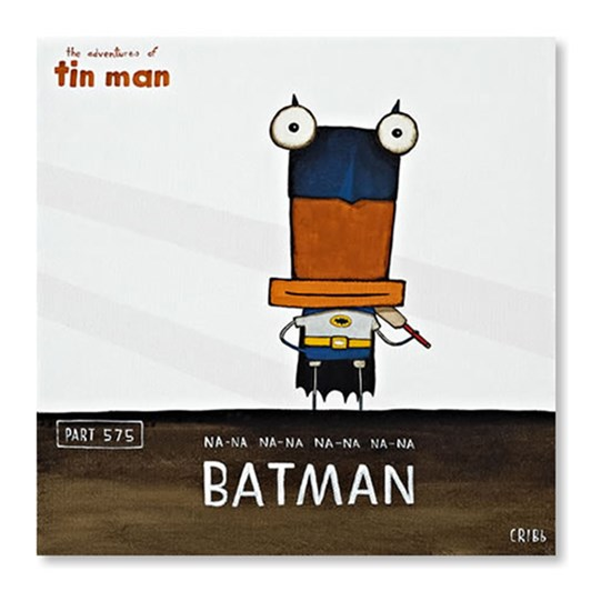 Batman Small Box Frame