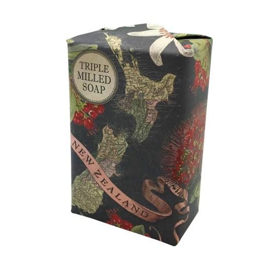 Tanya Wolfkamp Map Of New Zealand Soap