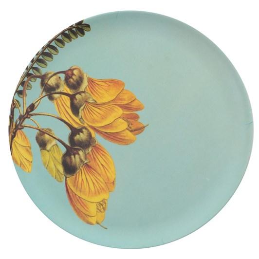 Tanya Wolfkamp Vintage Kowhai Bamboo Plate