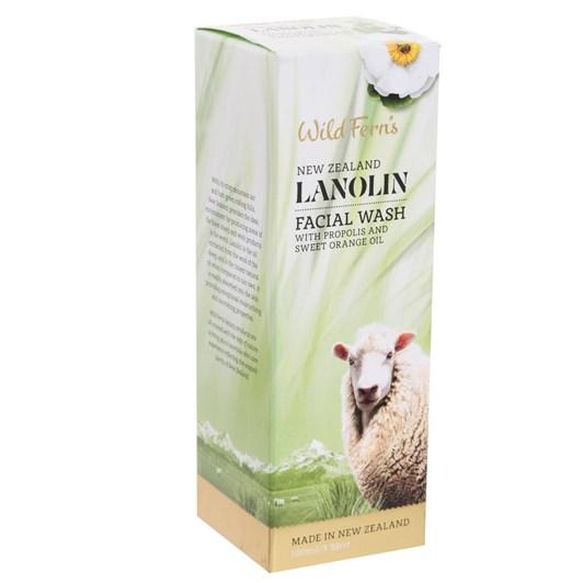 Lanolin Foaming Facial Wash