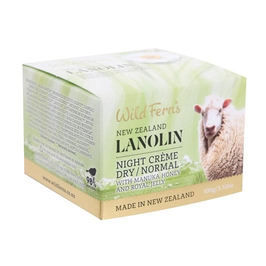 Lanolin Night Creme Dry/Normal 100g