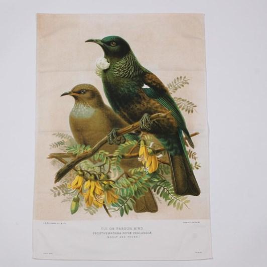 Tui Bird Prestige Tea Towel