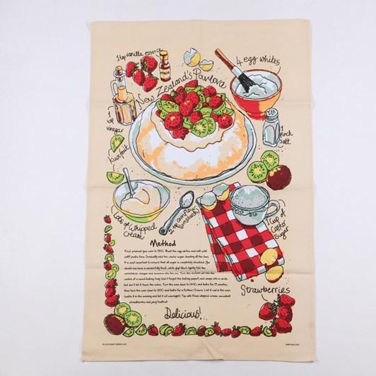 Kiwi Pavlova Tea Towel