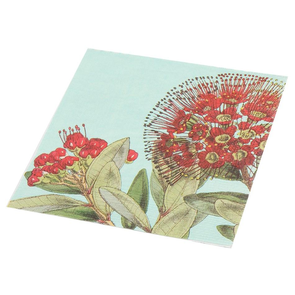 Rata And Kowhai Paper Napkins Pack Of 20 -